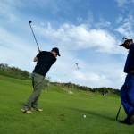 Robert Kassous sur le golf d'Agadir